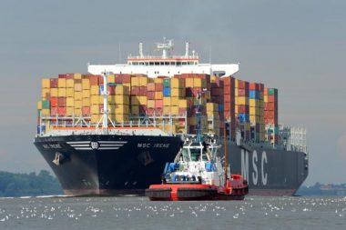 Inflační tlaky ohrožují vyhlídky německých exportérů. Zdroj: Hafen Hamburg