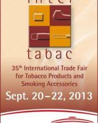 Zahájili jsme registraci vystavovatelů na 35.ročník největšího světového veletrhu tabáku a kuřáckých potřeb Inter-tabac 2013