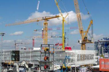 Silný růst německého stavebnictví nadále pokračuje. Foto: Messe München