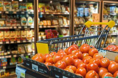 Němci nadále nakupují potraviny převážně v kamenných obchodech